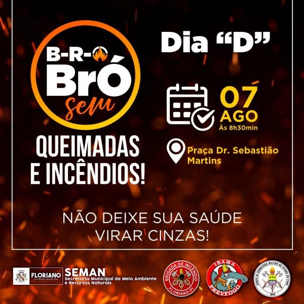 SEMAN intensifica Campanha de Combate às Queimadas e Incêndios em Floriano