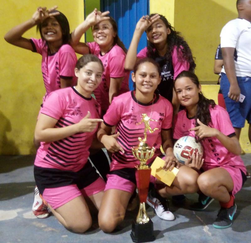 São Gonçalo – PI|Pérolas F.F. é a grande campeã na final do futsal feminino