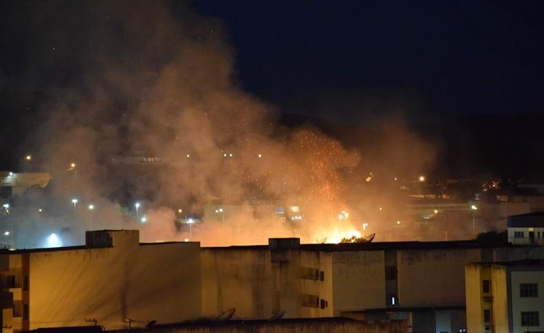 Incêndio atinge plantação no interior do Piauí