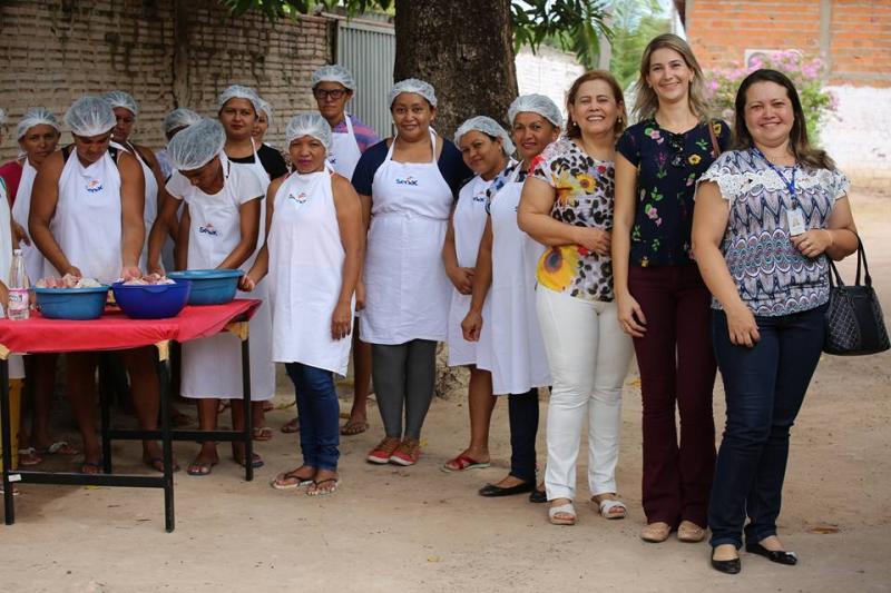 Senac e Assistência Social de Altos realizam cursos gratuitos para 100 alunos