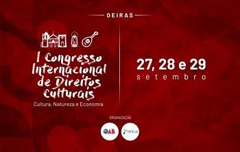 Oeiras sediará I congresso internacional de direitos culturais