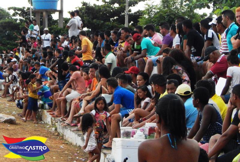 A Grande Final do Campeonato das Águas em Cristino Castro, foi um sucesso