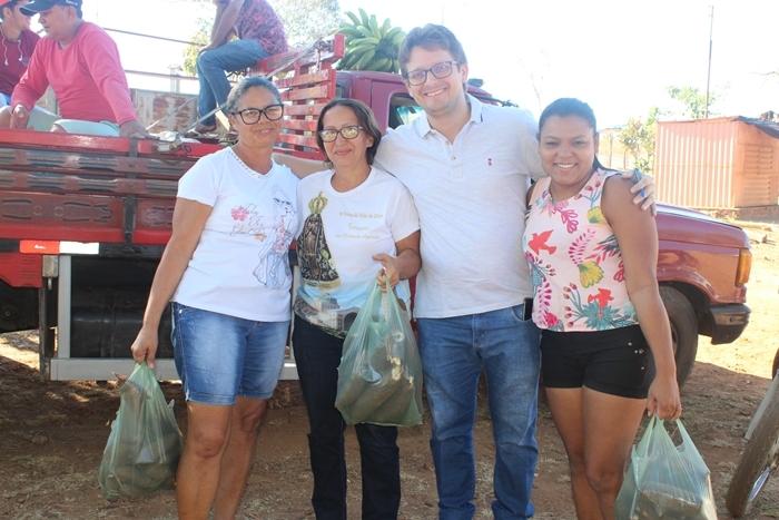 Prefeitura distribuiu 1,3 mil quilos de Macaxeira para beneficiários