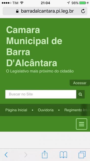 Certidão do TCE mostra que Câmara de Barra D'Alcântara está ADIMPLENTE