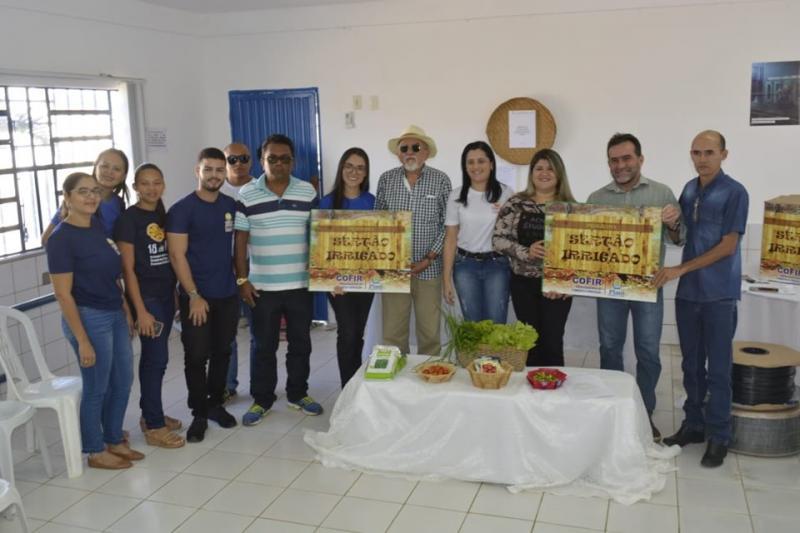 Projeto Horta Comunitária beneficiará 40 famílias em Oeiras