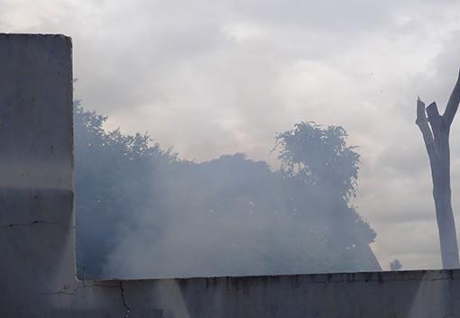 Matienses sofrem com fumaça que atinge toda zona urbana do municipio