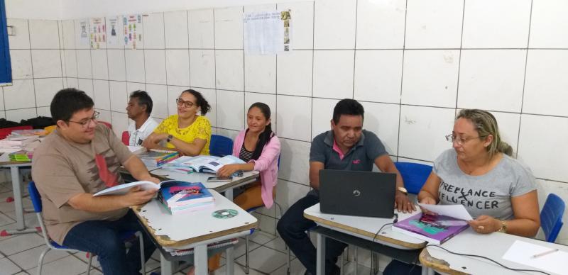 Prefeitura de Lagoinha do Piauí realiza encontro pedagógico