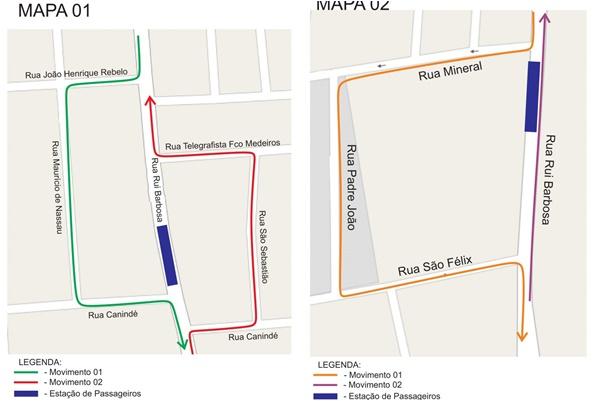 Strans interdita rua Rui Barbosa; veja as orientações