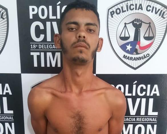 Condenado por assalto é preso pela Polícia Civil/Timon