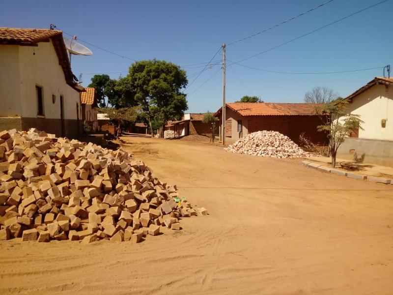 A pavimentação de Ruas em Landri Sales, está melhorado a vida de moradores.