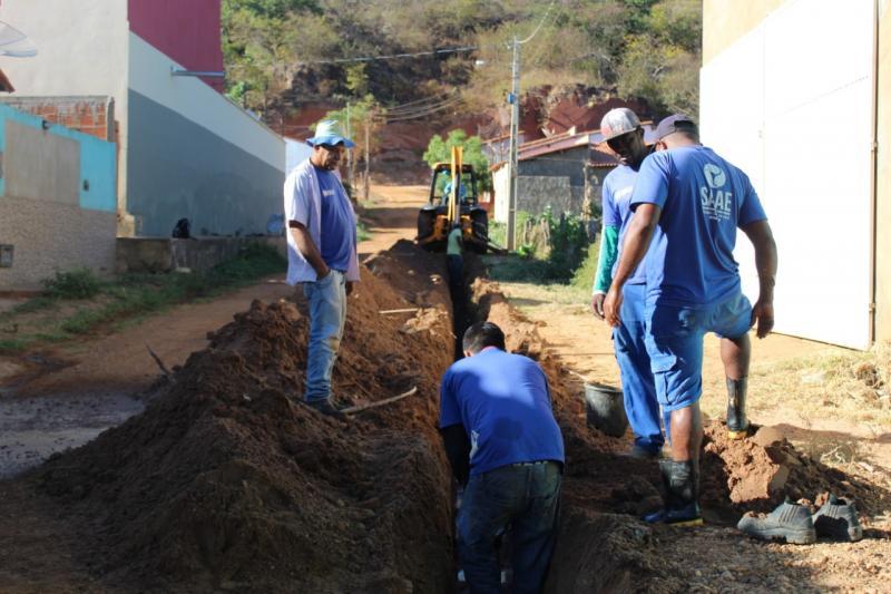 SAAE realiza ampliação e readequação do sistema hidráulico do Bairro Leme