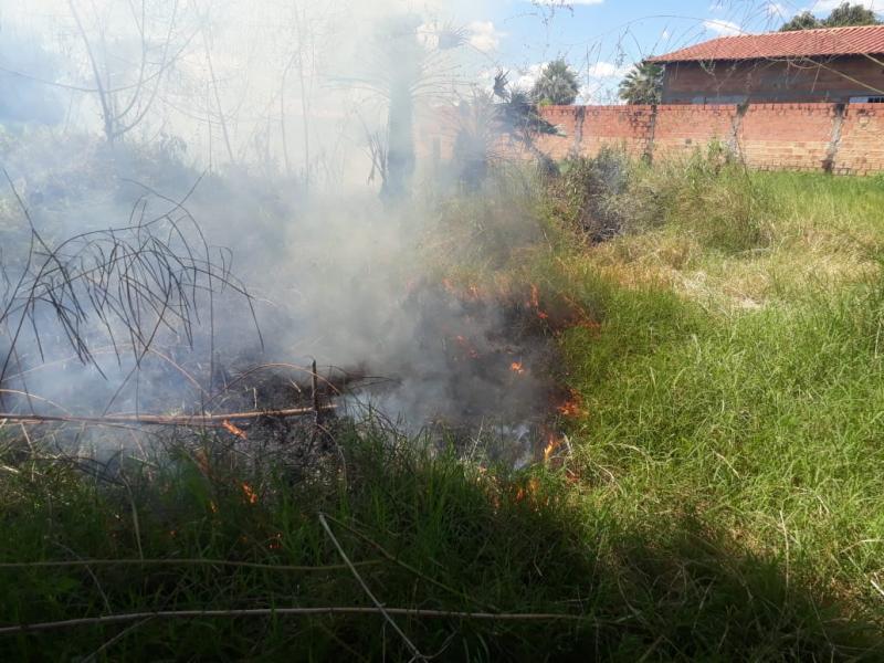 Baixa umidade e calor eleva risco de incêndios no interior do Piauí