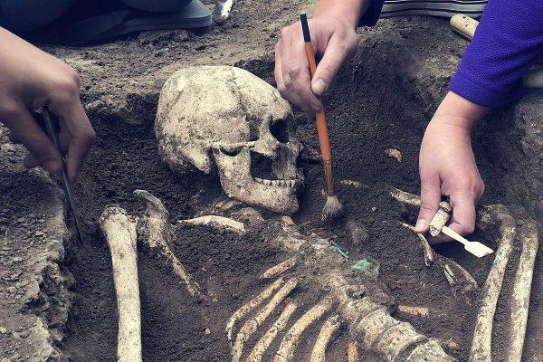 Famosa ossada de um 'vampiro' foi identificada