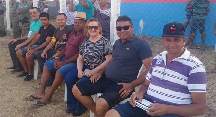 Mais uma rodada da copa AMPAR de futebol entre as seleções de Angical e Prata do Piaui