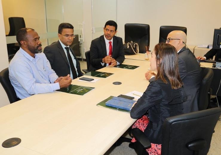 PMT busca apoio junto à corregedoria do MA sobre regularização fundiária
