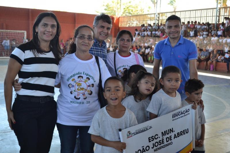 Monsenhor Gil: Prefeitura promove Olimpíada Esportiva no Ginásio Tarcisão