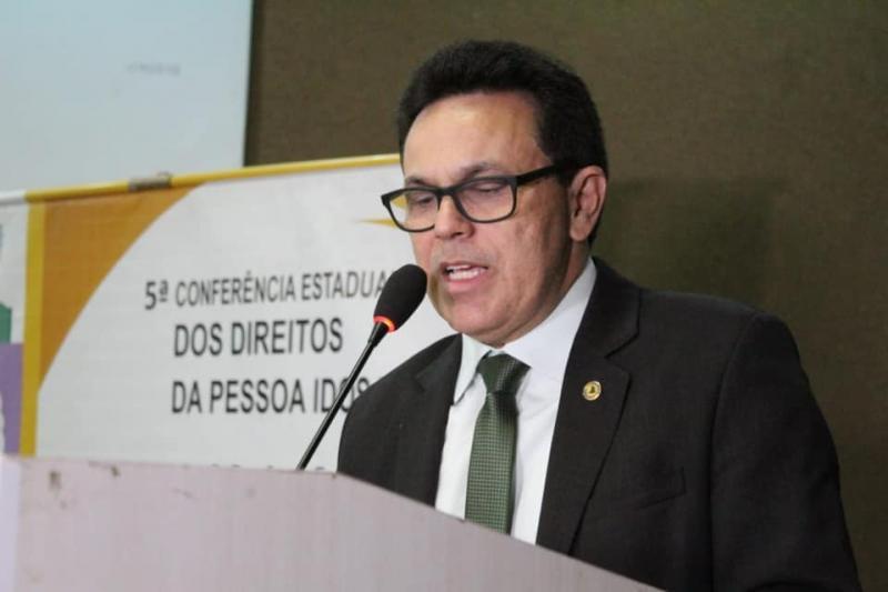 Zé Santana participa de Conferência Estadual dos Direitos da Pessoa Idosa