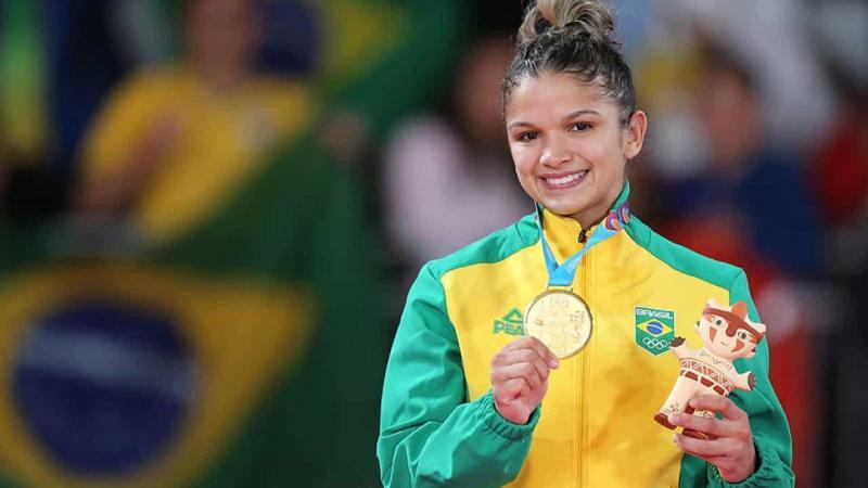 Judô brasileiro inicia o Pan com dois ouros