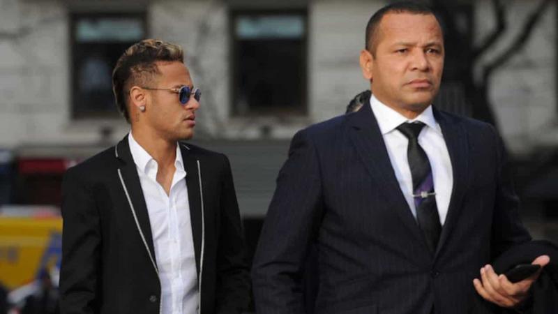 Pai de Neymar agradece fãs após fim da investigação de estupro