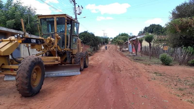 Rua Tony Ramos receber etapa de terraplanagem para asfalto em Esperantina