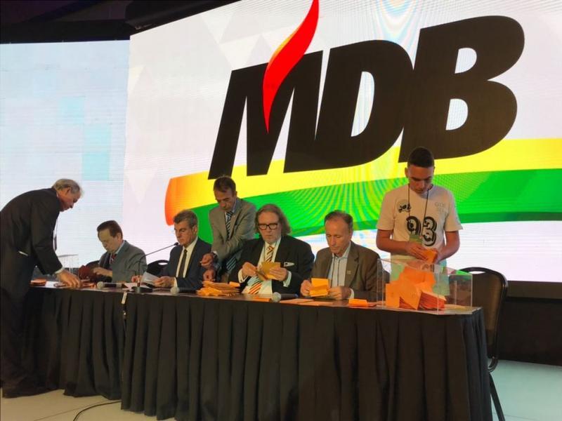 PMDB muda nome e passa a ser chamado MDB