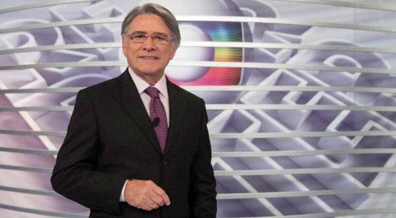 Sergio Chapelin deixa o Globo, ele pediu para se aposentar