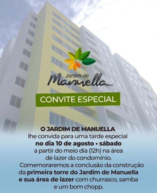 Jardim de Manuella, entrega do empreendimento hoje