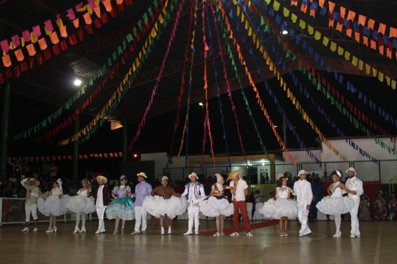 VIII Concurso Nacional de Rainhas Juninas foi realizado em Demerval