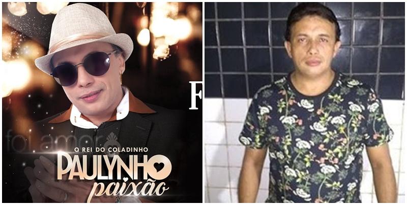 Paulynho Paixão é preso por agredir a companheira em hotel