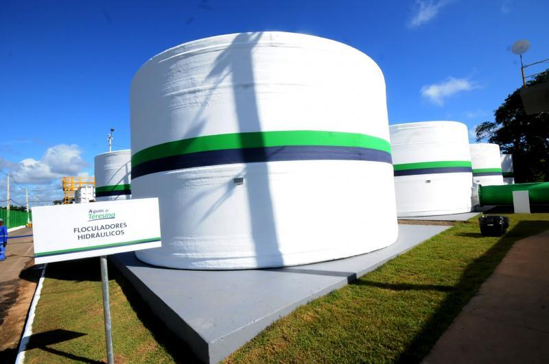 Região de Teresina fica sem água após furto de cabos de energia