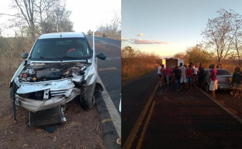 Motorista bate em árvore após perder controle do veículo