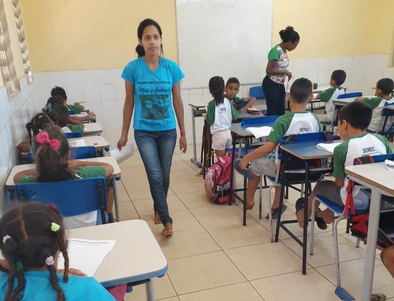 SEMEC de Francinópolis aplica a avaliação para os alunos do 1° e 2° ano