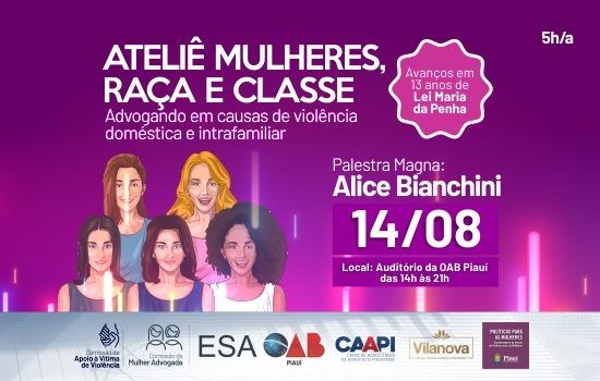 Ateliê capacitará mulheres advogadas para atuar em causas de violência