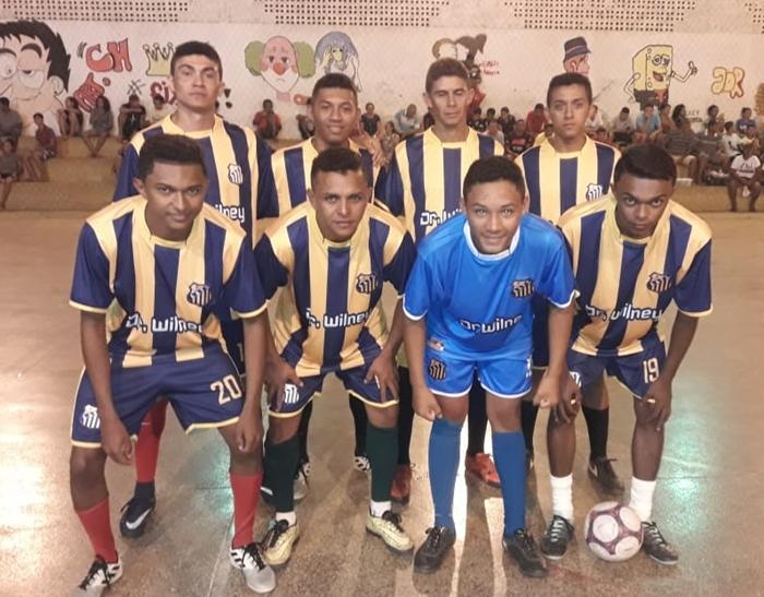 Prefeitura de Santa Cruz dos Milagres Promove campeonato de futsal 2019