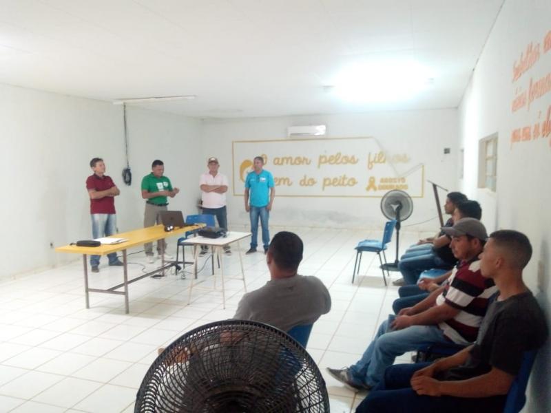 SENAR ministra cursos de quadros e comandos elétricos em Col do Gurgueia