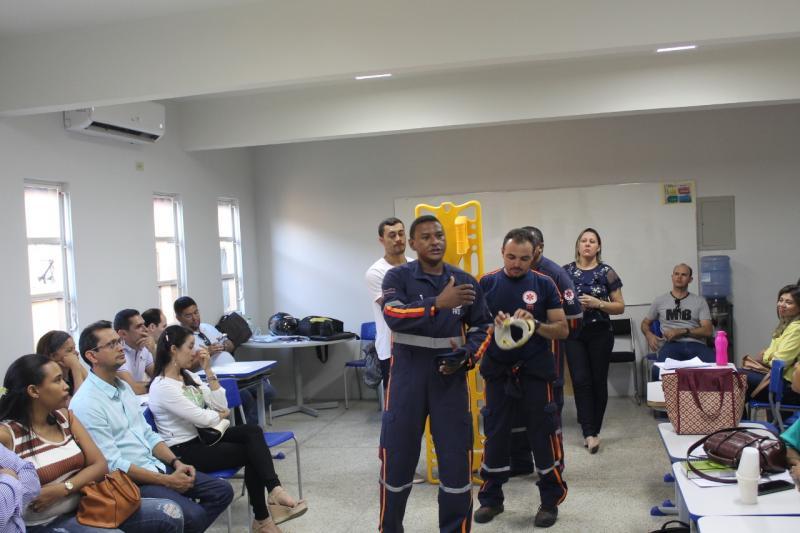 SAMU de Oeiras promove capacitação em primeiros socorros