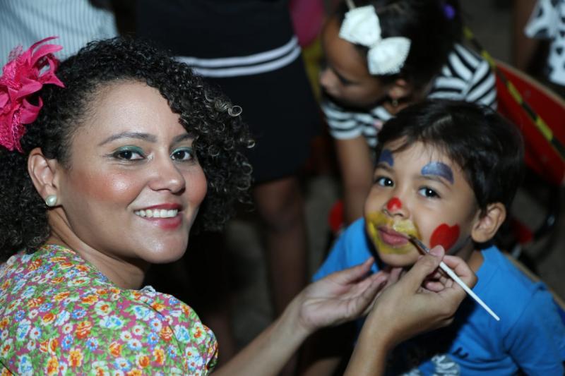 Crianças fazem Show Literário da Educação Infantil de Altos