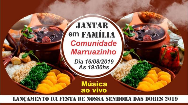 Marruazinho realizará jantar para lançamento dos festejos da comunidade