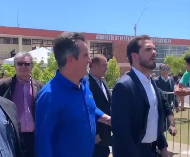 Ciro Nogueira é hostilizado em cerimônia com Bolsonaro no Piauí