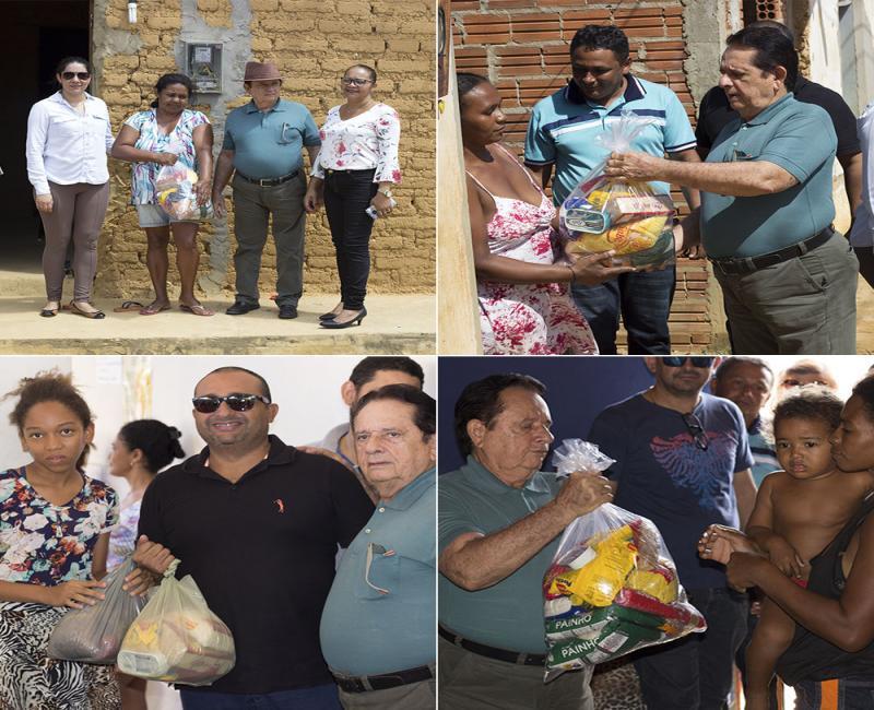 Prefeito de Uruçuí entrega 1.500 cestas básicas