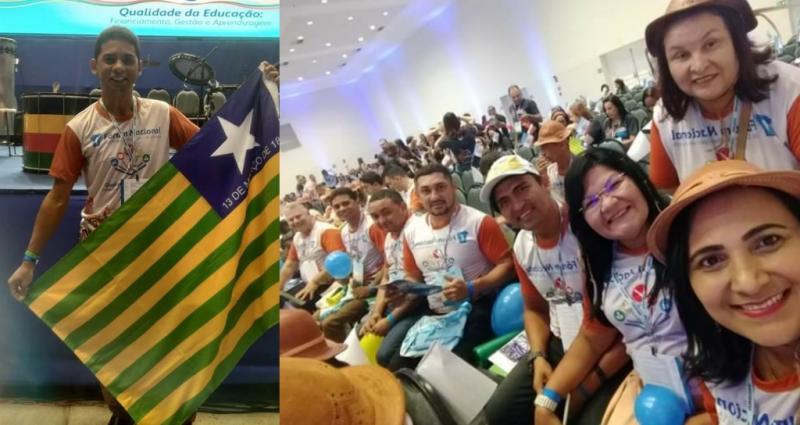 Sec. de Educação de Amarante participa do Fórum Nacional dos Dirigentes