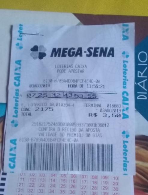 Jovem tenta tirar prêmio da Mega-Sena com bilhete falso