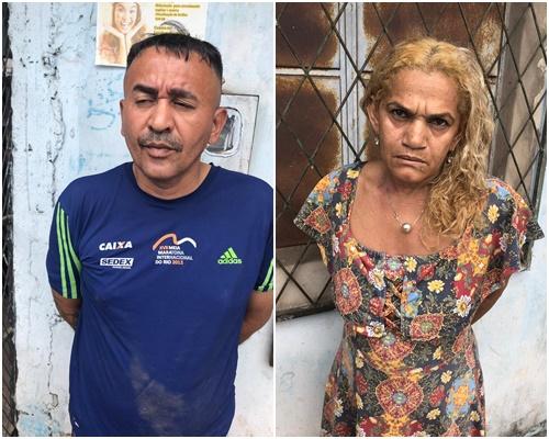 Casal é preso em ponto de venda de droga em Teresina