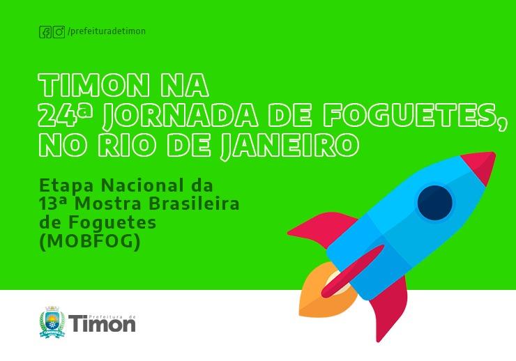Alunos da rede municipal são classificados para Jornada de Foguete no RJ