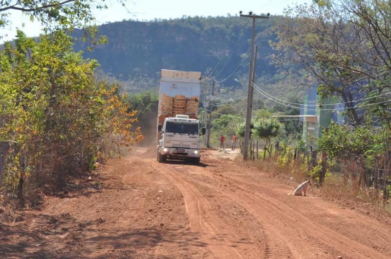 Prefeitura de Corrente recupera novas estradas vicinais