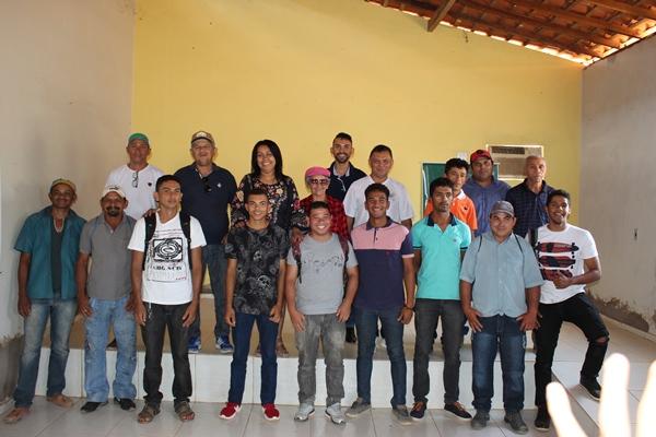 Encerramento do curso de quadros e comandos em Colônia do Gurgueia