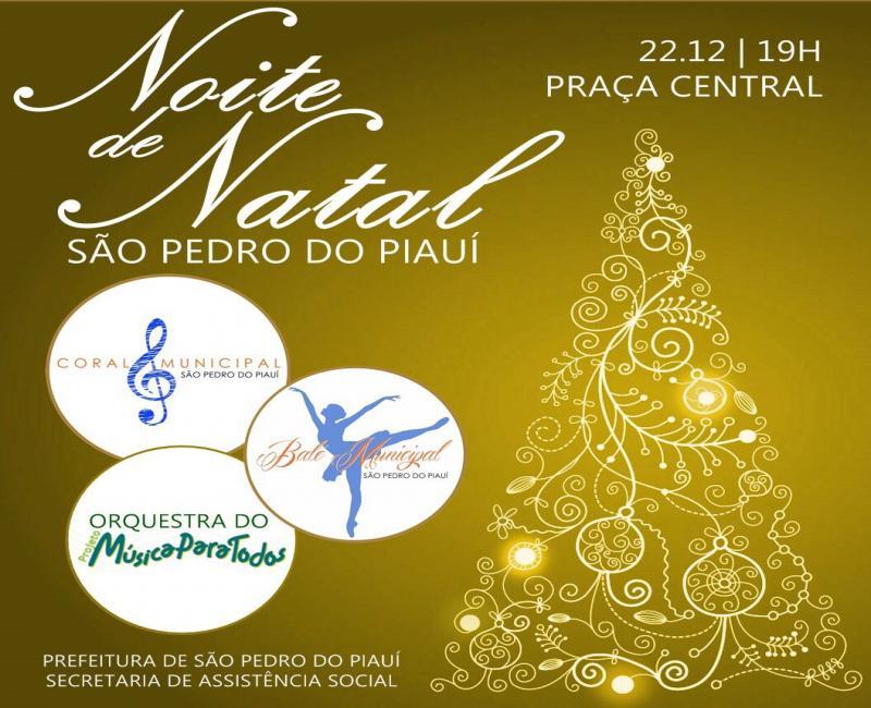 Evento Natalino será realizado nesta sexta-feira em São Pedro