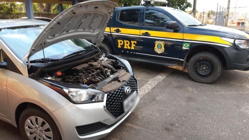 PRF recupera veículo na BR 316 poucos dias após ter sido roubado
