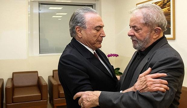 Brasileiros querem prisão de Lula e investigações contra Temer