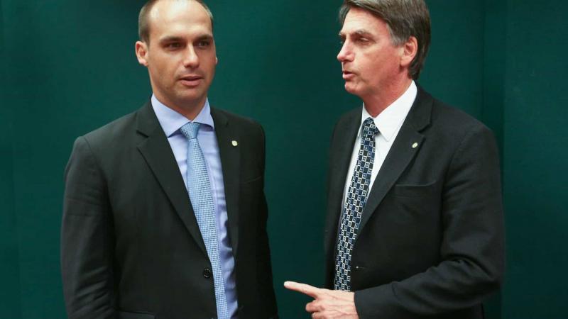 Senado diz que indicação de Eduardo configura nepotismo